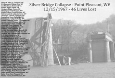 Point Pleasant WV - Silver Bridge Collapse - Victims (Bob Smerecki) Tags: smackman snapnpiks robert bob smerecki sports art digital artwork paintings illustrations graphics oils pastels pencil sketchings drawings virtual painter 6 watercolors smart photo editor colorization akvis sketch drawing concept designs gmx photopainter 28 draw hollywood walk fame high contrast images movie stars signatures autographs portraits people celebrities vintage today metamorphasis 002 abstract melting canvas baseball cards picture collage jixipix fauvism infrared photography colors negative color palette seeds university michigan football ncaa mosaic