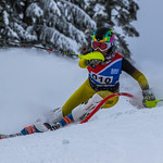 2018 FIS BC Cup - Ladies Slalom Day 2 - 3rd place PHOTO CREDIT: Chris Naas