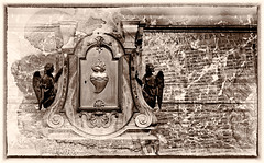 Treasures of Rome (Maurits Verbiest) Tags: rome dxo dxophotolab nik treasures angels religion clippingmask silferefexpro summipontificesinhacbasilicasepulti paus basilicadisanpietro