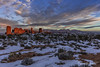 New Year Sunset Over Balanced Rock, Arches National Park, Utah (rebeccalatsonphotography) Tags: sunset alpenglow windows balancedrock golden landscape np nationalpark arches archesnationalpark outdoors winter january newyear rebeccalatsonphotography rebecca latson photography canon