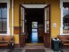 Conway, NH Train Station Baggage Room (Joey Hinton) Tags: olympus omd em1 1240mm f28 conway new hampshire mft m43 microfourthirds railroad train station luggage