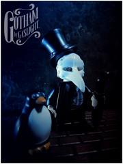 The Penguin, Gotham By Gaslight (LegoKlyph) Tags: lego custom brick block mini figure batman bird umbrella gotham dc comics book cartoon steampunk gaslight