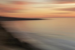 "Seaside Impressionism (intentional camera motion) (dcozziphotos) Tags: ""intentionalcameramovement"" icm sunset beach seaside impressionism abstract"