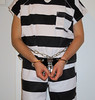 stripes and chains (rainerzufall1234) Tags: handcuffs handcuffed prisoner restraints shackles chains uniform inmate jail prison arrested arrest