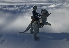 Hoth patrol (chevy2who) Tags: back strikes empire esb series black toyphotography toy toys solo han hoth wars star