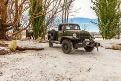 Proud Veteran (Ken Hendricks and Larry Patchett) Tags: danburymint 1946 dodge power wagon 124scale diecast model truck mash wwii