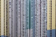 Dwellings (UrbanCyclops) Tags: hongkong asia hk building skyscraper tower public housing windows facade architecture apartments flats abstract city urban metropolis lines geometry
