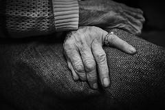 (thierrylothon) Tags: leica leicaq monochrome noirblanc solitude parisiledefrance paris personnage vieillesse closeup private personnel emotion lumière phaseone captureonepro c1pro publication flickr fluxapple conceptuel collection portfolio îledefrance france fr