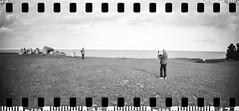2017-08 - 096SR_06 (sarajoelsson) Tags: sprocketrocket blackandwhite bw panorama panoramic sprocketholes digitizedwithdslr toycamera ilford 135 35mm hp5 monochrome plasticlens filmphotography filmisnotdead believeinfilm filmshooter film wideangle lomography lomo xtol teamframkallning bnw svartvitt blackwhite sweden 2017 summer summertime august vacation skåne österlen sverige