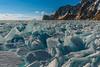 Ice hummocks at Hoboy cape (Evgeny Gorodetskiy) Tags: siberia cape snow landscape olkhon travel nature khoboy island hummocks winter lake russia baikal ice irkutskayaoblast ru