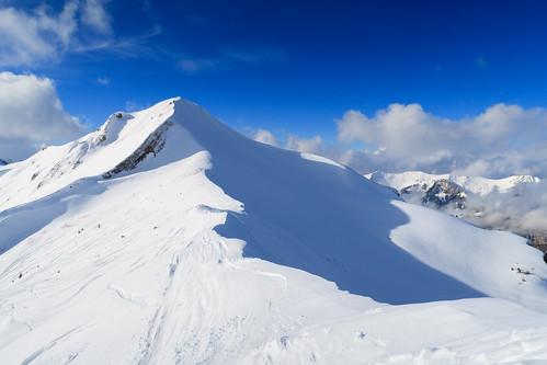 Snowy ridge