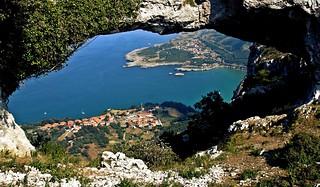 Desde Los ojos de Llanegro-Sonabia-Cantabria.