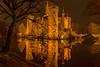 Schloss Moyland bei Nacht (gabrieleskwar) Tags: outdoor schloss wasserschloss moyland nacht wasser himmel haus bäume beleuchtung leuchten licht
