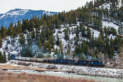 Nimrod (jameshouse473) Tags: mrl montana rail link sd45 emd clark fork river
