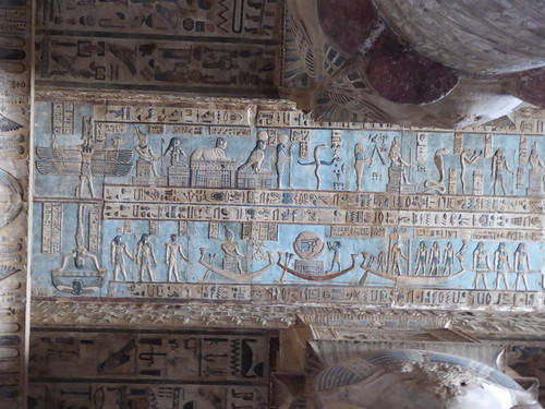 Ceiling, Dendera Temple
