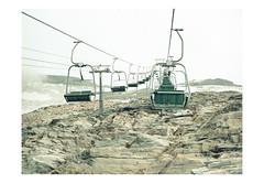 (harald wawrzyniak) Tags: analogue analog film scan mediumformat haraldwawrzyniak austria 120mm kodakportra portra kodak mamiya645af 2016 mountain berg lift travel