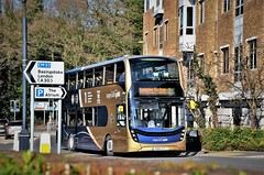 Stagecoach Gold 10761 (stavioni) Tags: gold enviro 400 mmc double route one 10761 sn66vyf stagecoach decker bus camberley surrey adl alexander dennis