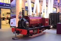 BR Velinheli @ London Kings Cross train station (ianjpoole) Tags: the hunslet engine company quarry alice class velinheli display london kings cross train station