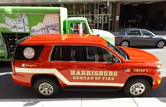 Fire Chief SUV (dfirecop) Tags: dfirecop harrisburg city harrisburgcity pennsylvania pa emergency vehicle 2016 chevrolet tahoe ppv fire