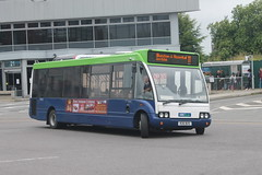 Notts & Derby - R26 BUS (BigbusDutz) Tags: notts derby optare solo r26 bus