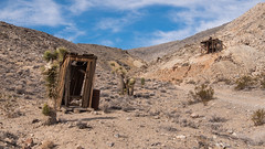 Outhouse at Lost Burro Mine (joeqc) Tags: deathvalleynationalpark dvnp deathvalley outhouse lostburromine lost burro mine desert mojave abandoned forgotten