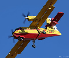 Ejército del Aire Canadair CL-415 1135/43-30, Grupo 43, Albacete AFB/LEAB (Mosh70) Tags: albaceteairbase leab ejércitodelaire eurofighteref2000typhoon ala14 canadaircl415 grupo 43 1135 4330