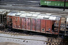 CB&Q Class HC-1B 181639 (Chuck Zeiler) Tags: cbq class hc1b 181639 burlington railroad covered hopper freight car cicero train chuckzeiler chz