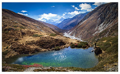 Annapurna (Chamikajperera) Tags: nepal photography canon color landscape sky clouds mountains hiking mortication outdoor lake travel hike
