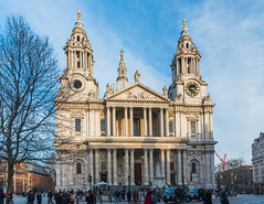 West Front, St Paul's Cathedral (Gerry Lynch) Tags: cityoflondon london cathedral
