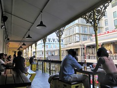 Cape Town, the Beer House on Long street (Sokleine) Tags: beerhouse bierhaus bar pub architecture heritage victorian colonial creole metallic ironwork ferronnerie balcony balcon longstreet capetown lecap southafrica afriquedusud africa afrique
