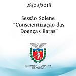 Sessão Solene Alusiva à Conscientização das Doenças Raras