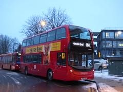 H14 Model Change (londonbusexplorer) Tags: london sovereign ratp group adl enviro 400 mmc hybrid adh45261 yy67uus h14 northwick park hospital hatch end tfl buses brand new
