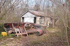 05.back yard (NiteLiter) Tags: oldstructure