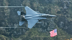Saluting the Flag at 500 knots (The Don Photography) Tags: usaf explore f15 eagle aviation military war machine the don photography wales mach loop low level aircraft