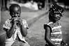 (Conscious Scofield) Tags: guinebissau bissau guineabissau bw black white chrome guinea guine goddess hairs afro darkskin street photography kids kid smile smiles children africa african