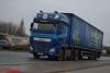 DAF XF 106 'Shipley Transport Services' reg M1 STS (erfmike51) Tags: dafxf106 truck artic curtainside euro6 lorry shipleytransportservices