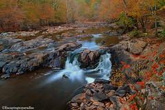 EnoRiv+1_9836_TCW (nickp_63) Tags: autumn eno river state park durham north carolina nc waterfall cascade fall nature colors creek leaves trees long exposure rock water tree boulders