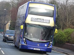 West Park (Andrew Stopford) Tags: yx66wjg adl enviro400 mmc first westpark leeds x85