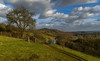 In the Surrey hills (trojanhorse1956) Tags: st marthas surrey guildford nikon d750 gate clouds hills