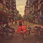 Playing football in downtown street. yangon,myanmar. ©Pye Maw. #streetphotography #mmstreetcollectives #featuredcollectives #playingfootball #onstreet #peoples #myanmarstreetstyles #yangonstreetlifes #urbanstreetphotography #worldwidestreetphoto thumbnail
