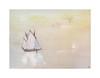 Calme plat (Yvan LEMEUR) Tags: calmeplat aquarelle watercolour acuarela voilier marine voile peinture sérénité calme silence