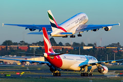 A6-EDN EK A380 34L YSSY-3234 (A u s s i e P o m m) Tags: mascot newsouthwales australia au emirates ek airbus a380 syd yssy sydneyairport sunrise