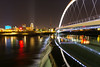 Hawkeye 018 (Cycle the Ghost Round) Tags: des moines iowa office night skyline bridge downtown city cityscape river modern architecture outdoors united states bridges beautiful lights travel landscape new building tourism urban american tower america usa midwestern flyovercountry water reflection