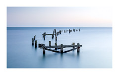 Swanage old pier (Paul Cronin 1) Tags: firstlight pastelcolours sunrise canon dorset leepolariser simplicity seascape lee10stopper 2470lmk2 canon5ds longexposure structure swanageoldpier