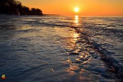 Kingdom of Ice (DTD_9964) (masinka) Tags: lake erie greatlakes endless ice frozen winter wonderland crack sun hamburg beach buffalo ny newyork outdoors nature landscape photography etbtsy orange january