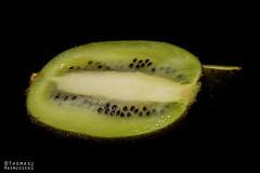 Kiwi (ThomasMaribo) Tags: fruit kiwi godox flash speedlight nikon dark low light food juicy green