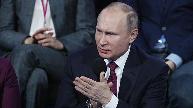 Владимир Путин объявил онеобходимости продолжать создавать позитивный деловой климат в Российской Федерации
