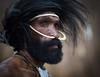 I am Worrior (wu di 3) Tags: papua indonesia dani tribe man warrior primitive bone nose