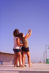 A moment in the past... (Andrea Novello) Tags: marzamemi italy italia sicilia sicily beach sea travel viaggi selfie color light nikon girls