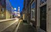 Dordrecht - Grotekerksbuurt 18&20(color version) (Wim Boon (wimzilver)) Tags: wimboon dordrecht bluehour canoneos5dmarkiii canonef1635mmf4lisusm holland netherlands night